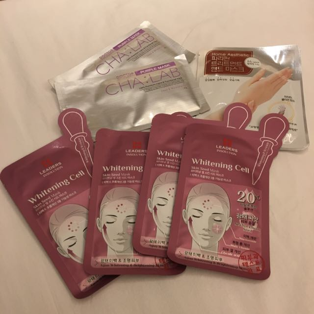 Korea Face Mask - Moisturising Brightening Whitening