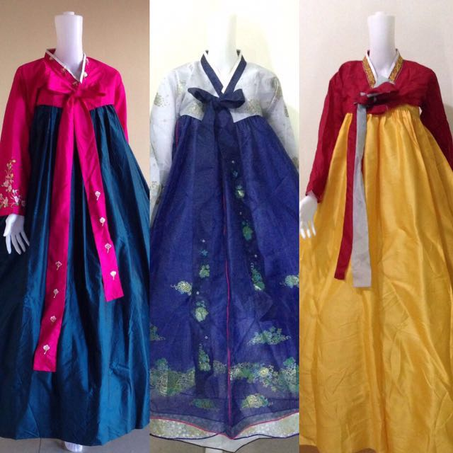 Korean Hanboks **For RENT!!**