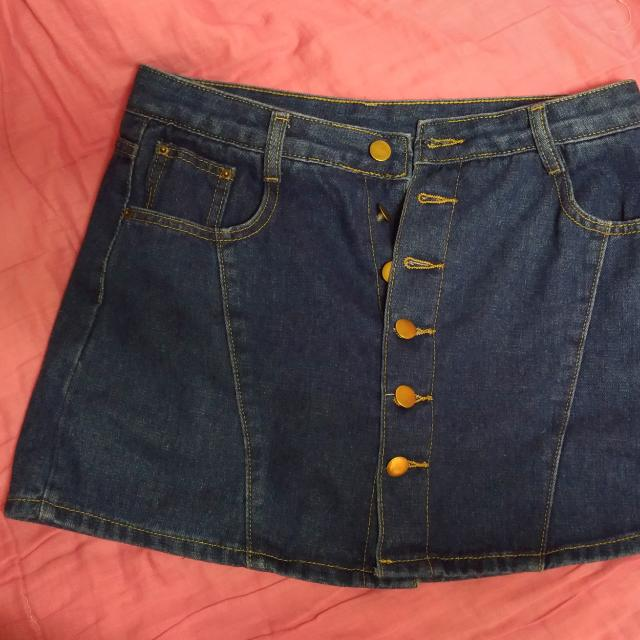 牛仔褲裙L號