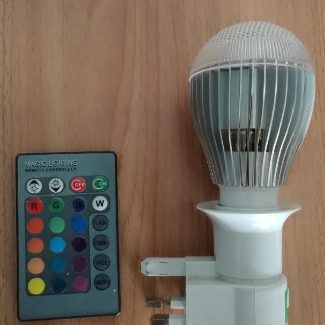 Lampu Bilik Tidur Pelbagai Warna Ikut Citarasa Electronics Others On Carou