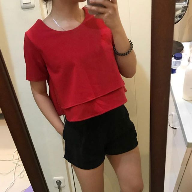 Layer red top
