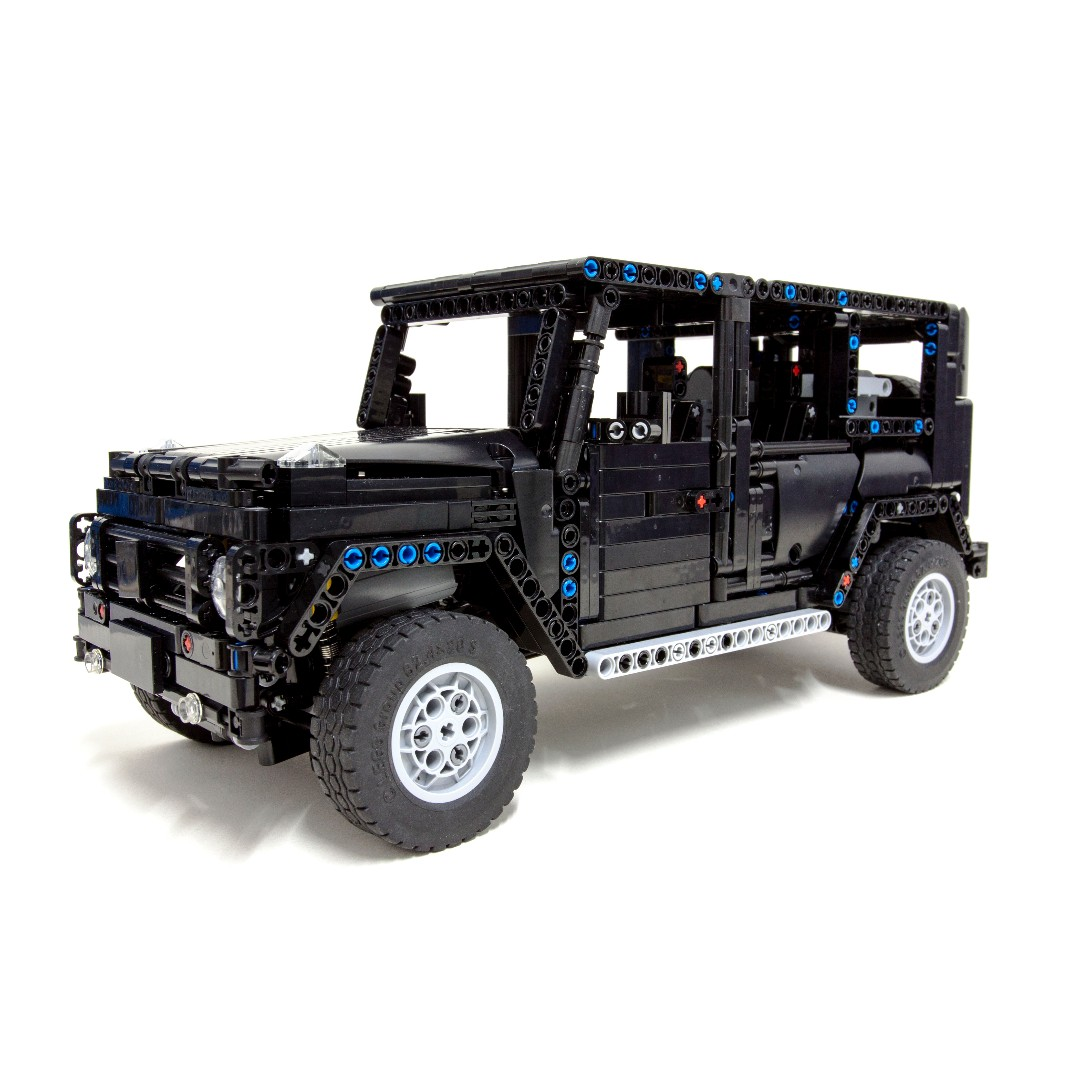 g500 awd wagon moc 2425 authentic lego technic brick. Black Bedroom Furniture Sets. Home Design Ideas