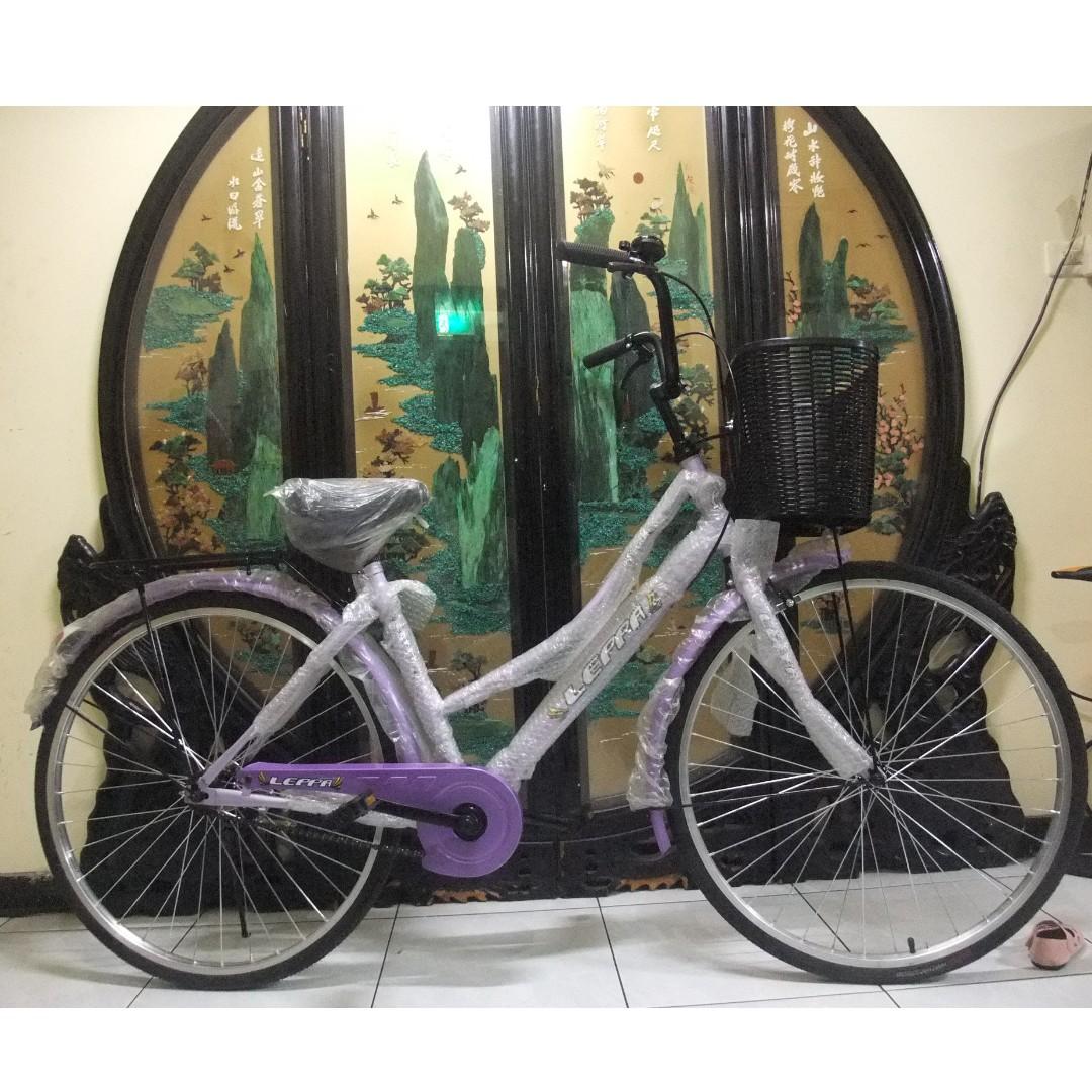 全新leppa台灣製26吋低跨點淑女腳踏車.桃園市自取