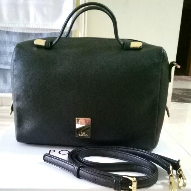 Les catino sling bag black