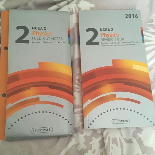 Level 2 Physics Studypass pack