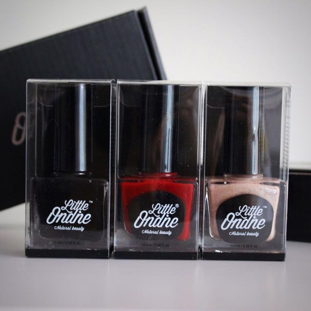 Little Ondine Peelable Nail Polish Pack: CLASSIC HOLLYWOOD