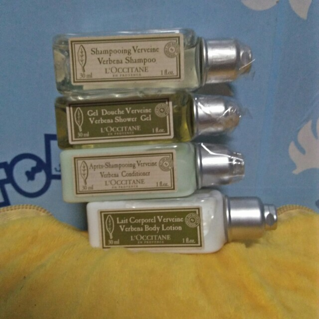 L'occitane Travel Bath Set