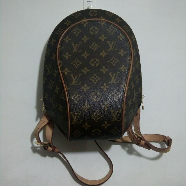 92039f7e54dd Louis Vuitton ellipse monogram backpack