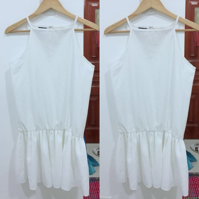 LWD little white dress (dress and jumper in 1)
