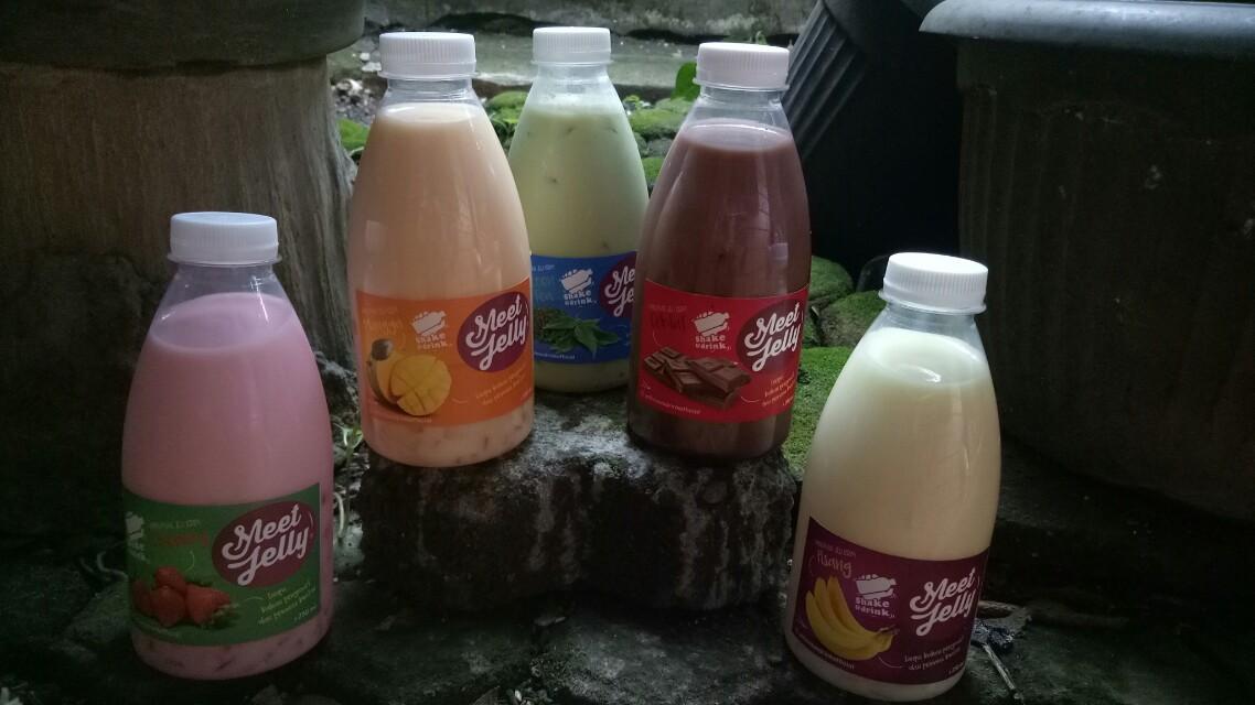 Meet jelly drink