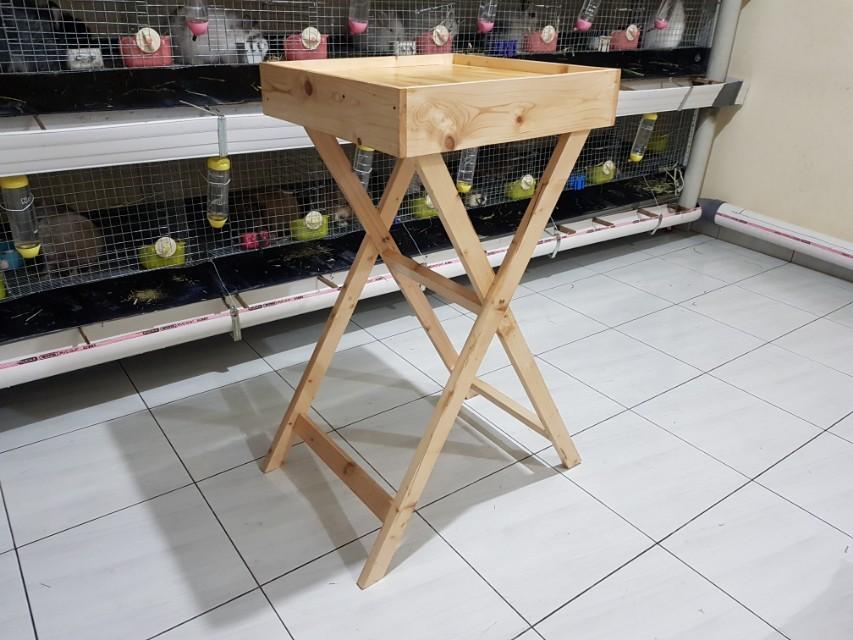 Meja Posing dan Grooming Kelinci