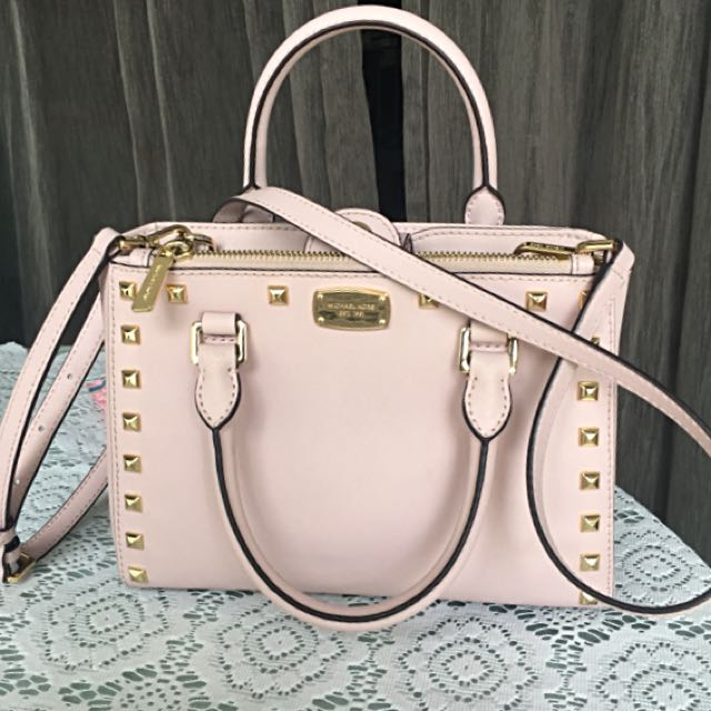 150e2f09b999 ... low cost michael kors pink satchel bag luxury bags wallets on carousell  fc1de fedd5