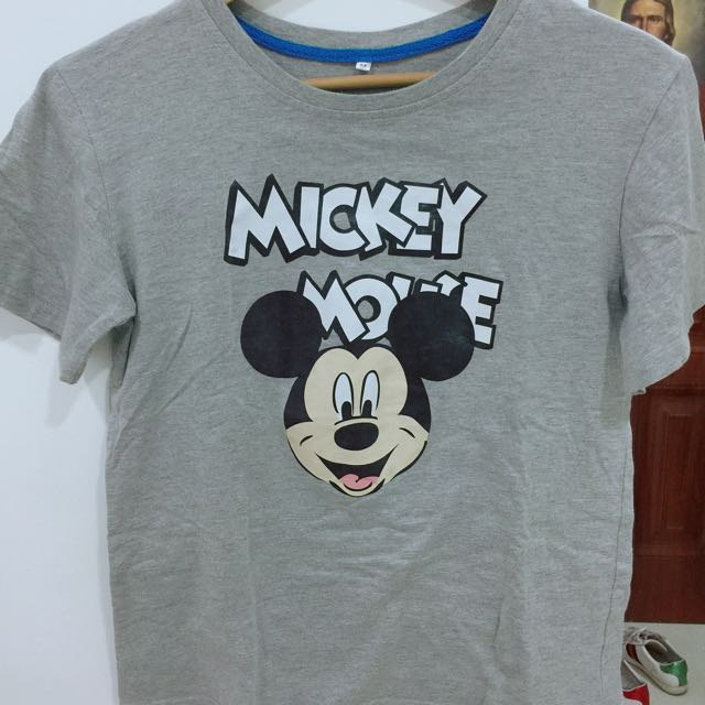 Mickey Mouse Gray Top/Shirt