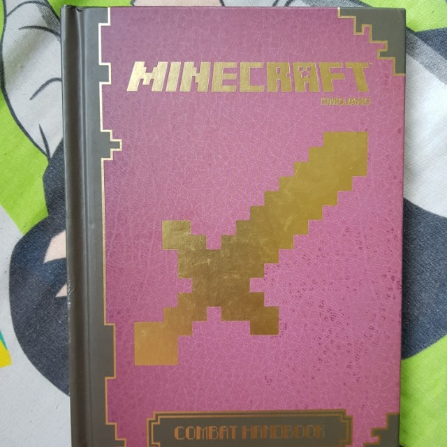 Minecraft combat handbook on Carousell