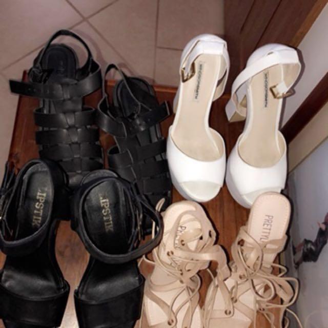 Mixed High Heels