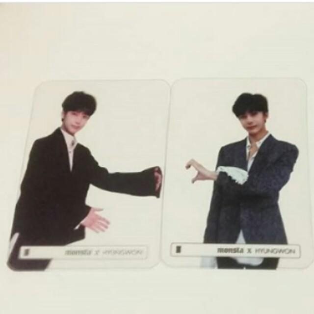 Monsta X Hyungwon Beautiful photocards kpop