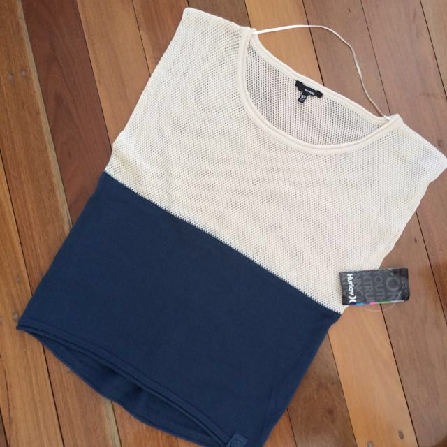 NEW Hurley Knit Top xs