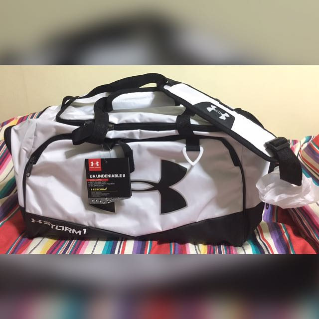 NEW Under Armour X Virgin Active Duffle Gym Bag Storm 1 Limited ... 726c657e472a3