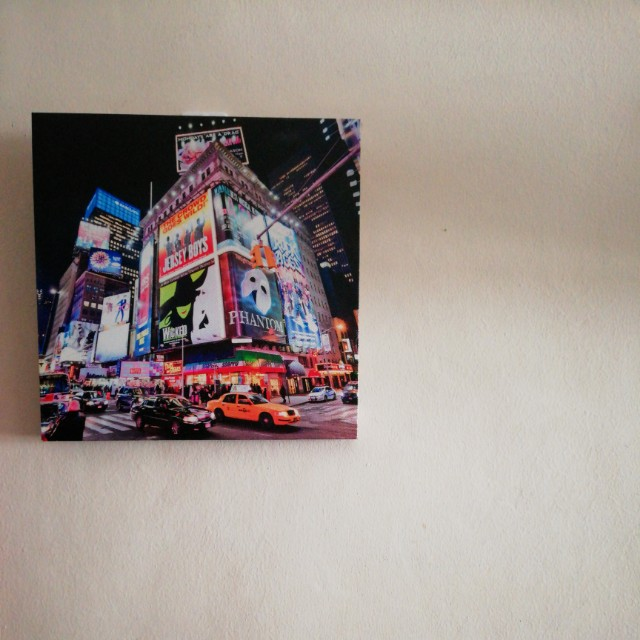 NEW YORK - Printed Canvass (Pair)
