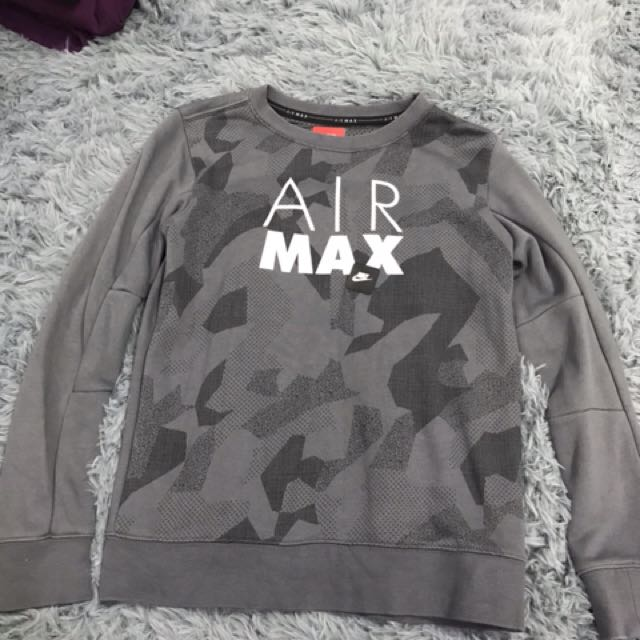 187ff81b Nike Air Max pullover, Women's Fashion, Clothes, Outerwear on Carousell