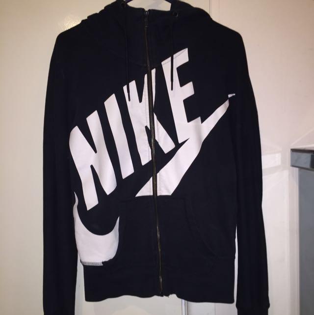 Nike High Neck Zip Hoodie