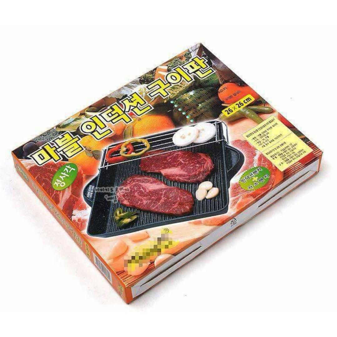 無煙不沾雙層烤盤(電磁爐烤盤)Non-stick non-stick double baking pan (cooker baking pan)