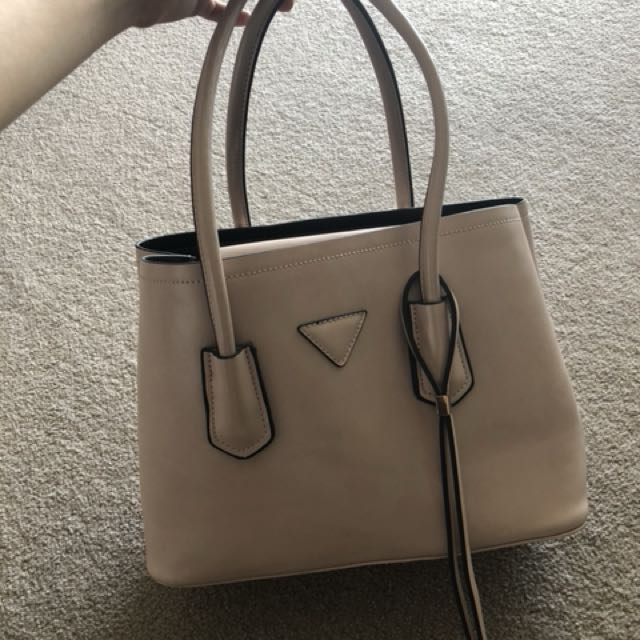 Nude pink office bag
