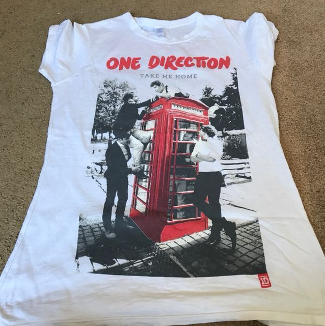 One direction concert top size L