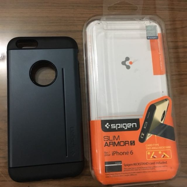 Original Spigen Slim Armor S iPhone 6/6s