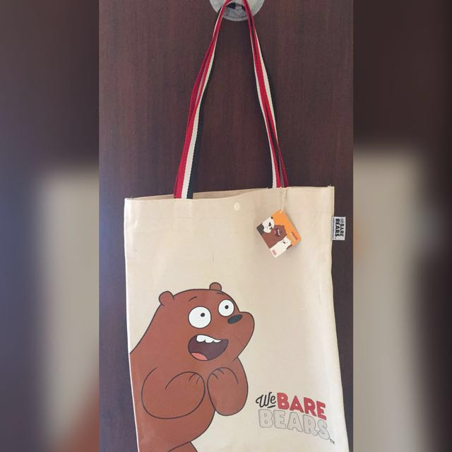 Original We Bare Bears Tote Bag