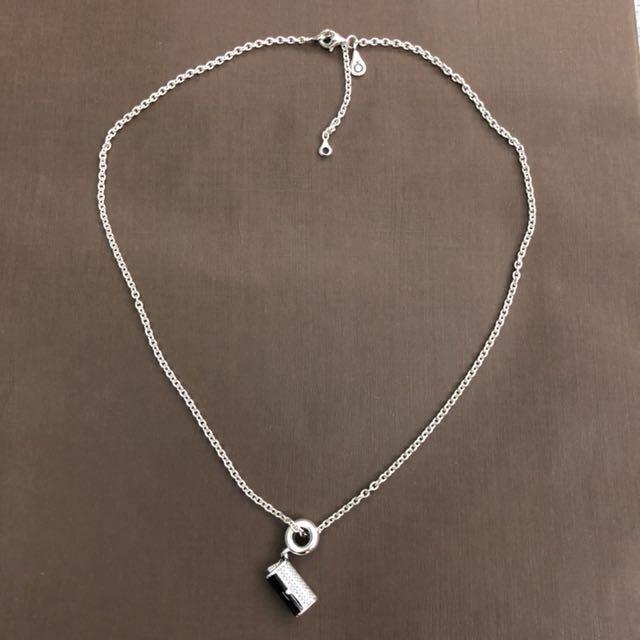 超特價:pandora潘朵拉925純銀項鍊45cm及吊飾丹麥珠寶品牌