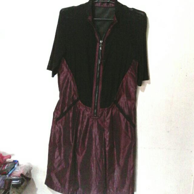 For Sale Or Swap! Plum See Thru Dress