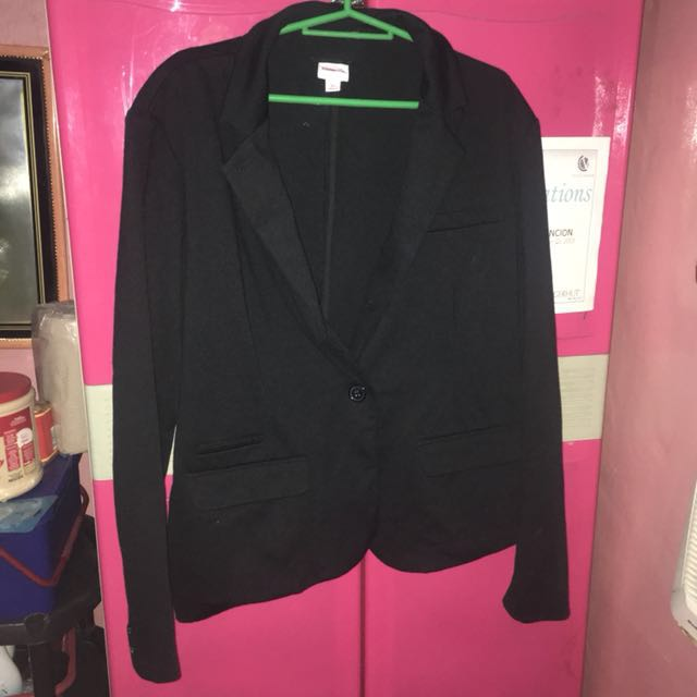 Plus size: Black Blazer