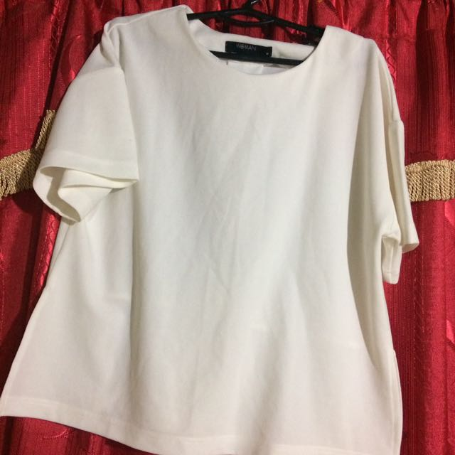 Plus Size Woman's Batwing Top