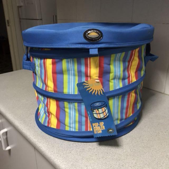 Pop up cooler bag
