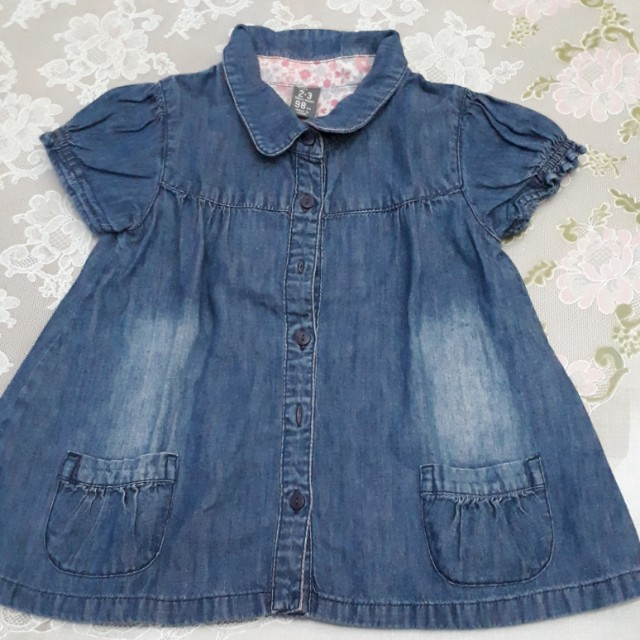 Preloved Top Jeans ZARA Kids