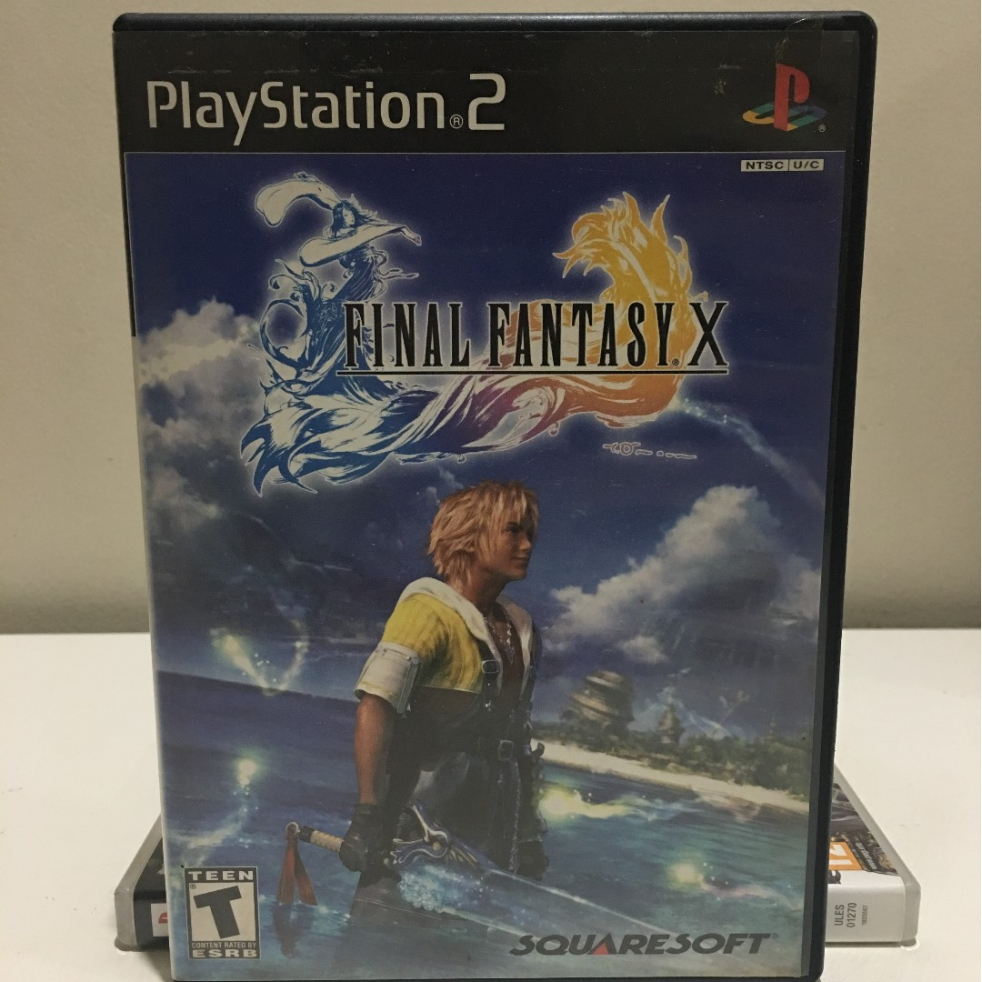 PS2 Game - Final Fantasy X (or Final Fantasy 10)