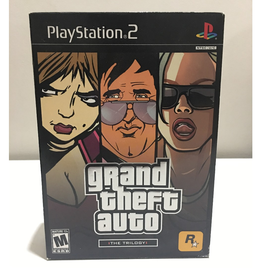 PS2 Games - Grand Theft Auto: The Trilogy