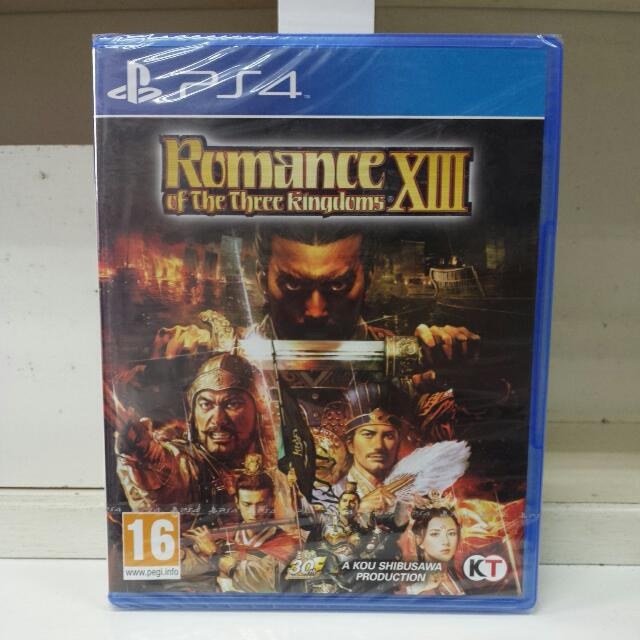 PS4 Romance Of The Three Kingdom XIII