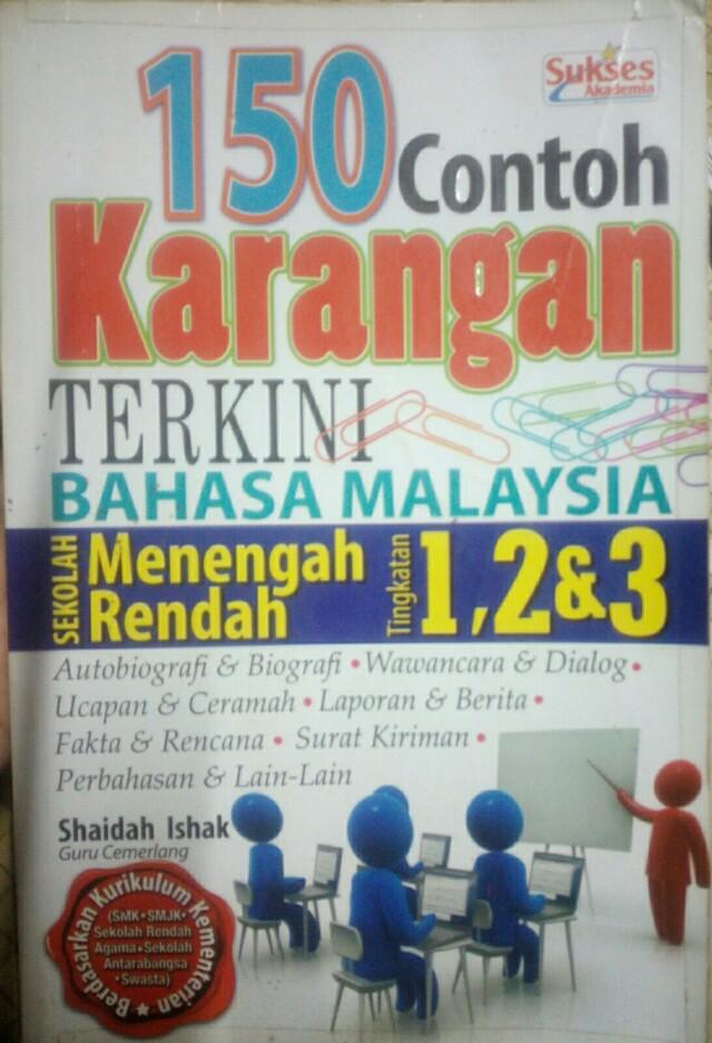 Pt3 150 Contoh Karangan Terkini Bahasa Malaysia Textbooks On Carousell