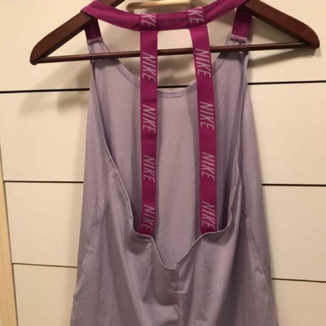Purple Nike tank top