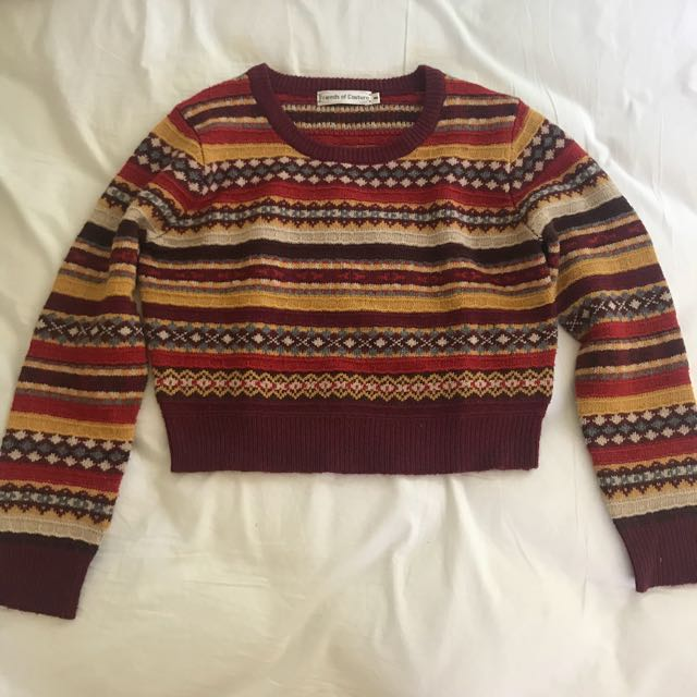 Quirky Circus - Patterned Knit Jumper