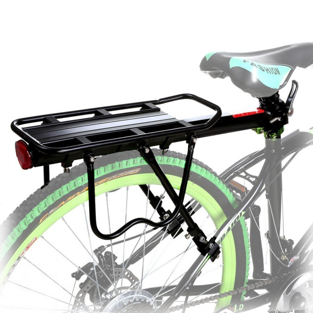 *Rear Rack Mount* Carrier Rack With Support Arms For Bicycle Use only MTB Bike