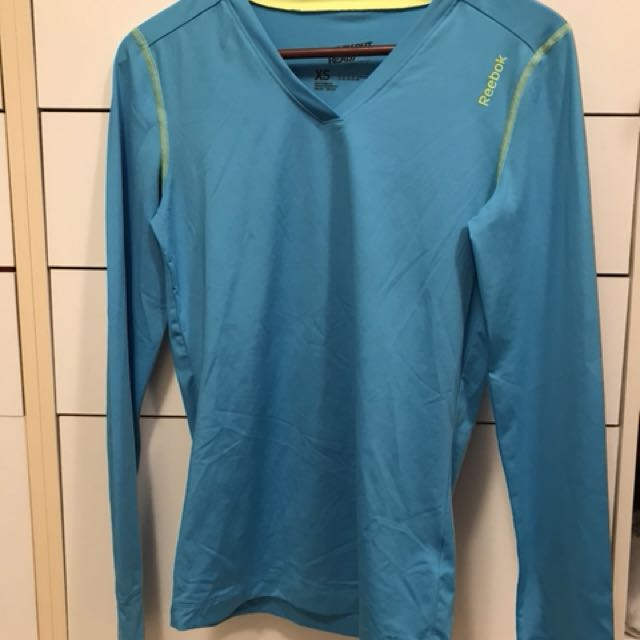 Reebok workout long sleeve