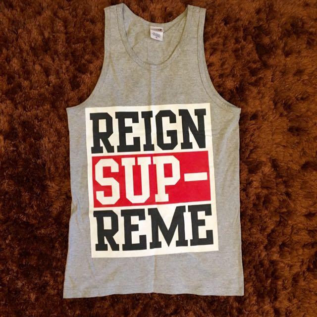 c8ee2b12818fd Reign Supreme band tank top