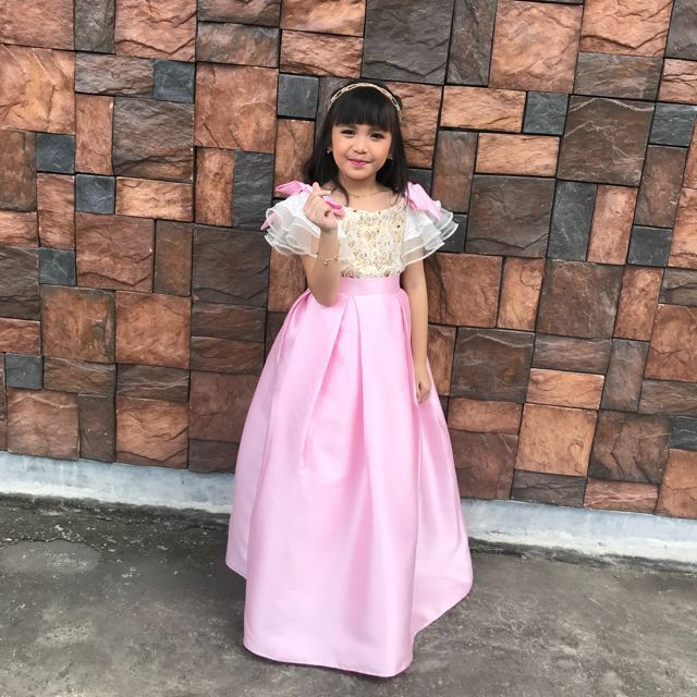 REPRICED!!! Long gown for your little girl