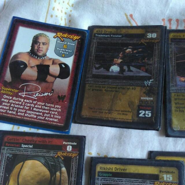 WWE Raw Deal RIKISHI GETTIN CHEEKY WITH IT WWF ORIGINAL