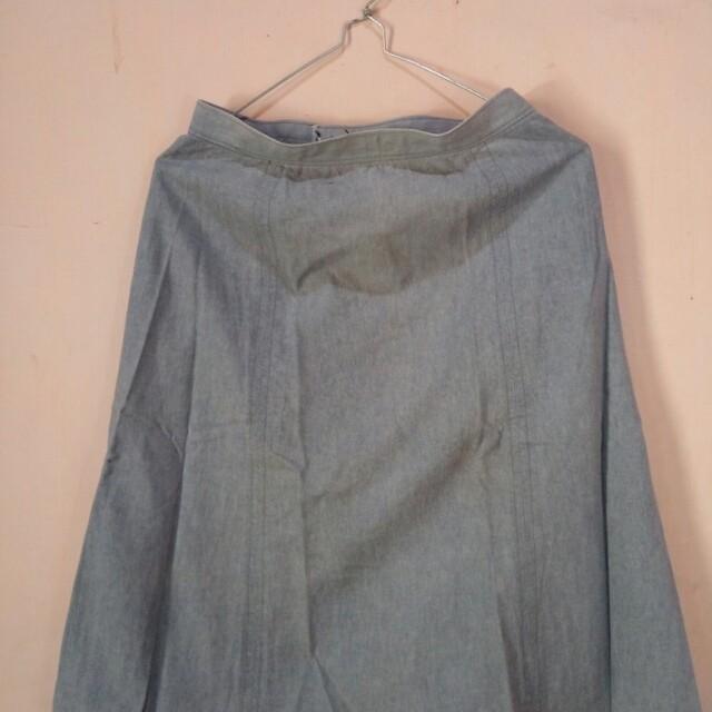 Rok Midi Jeans