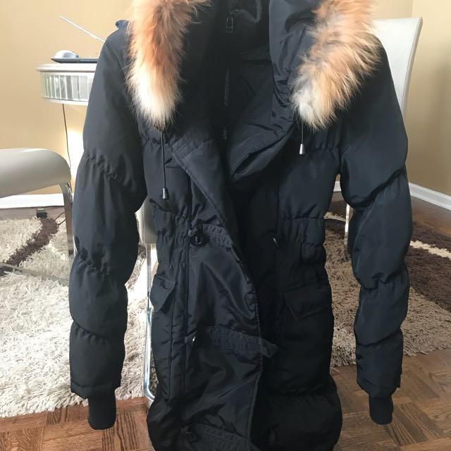 Rudsak with Real fox fur coat