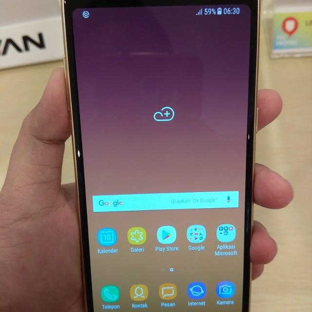Samsung Galaxy A8 2018 Bisa Cicilan Free Kuota 13GB Serba Serbi Di
